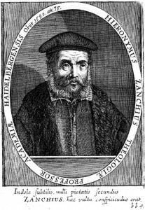 Girolamo Zanchi (1516-1590)
