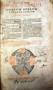 Zanchi_J - Omnium Operum Theologicorum v8